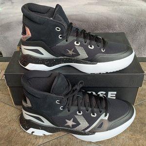 CONVERSE G4 HI Black/Pure Silver/White MENS